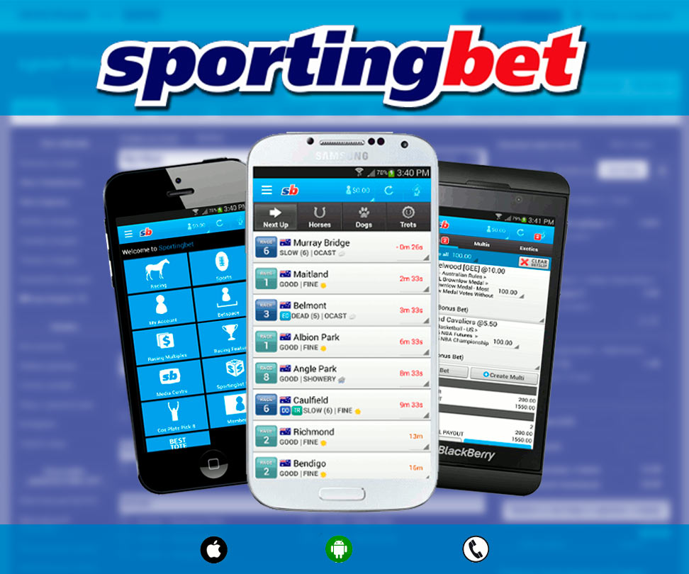 SportingBet application